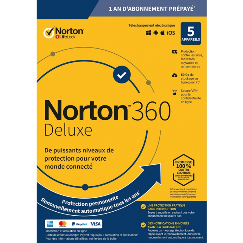 Licence NORTON 360